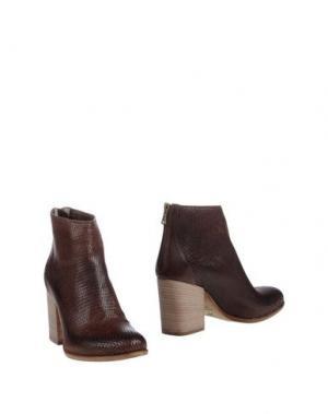 Полусапоги и высокие ботинки KEB. Цвет: какао