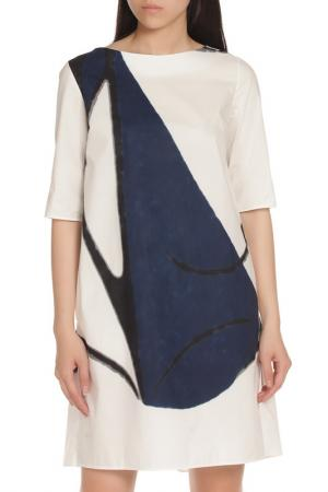 Платье Marni. Цвет: белый