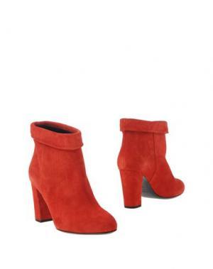 Полусапоги и высокие ботинки PHILOSOPHY DI LORENZO SERAFINI. Цвет: красный