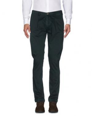 Повседневные брюки BARBATI. Цвет: темно-зеленый