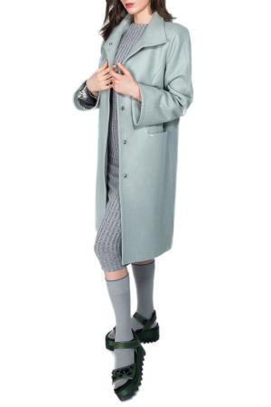 Пальто BEZKO. Цвет: оливковый