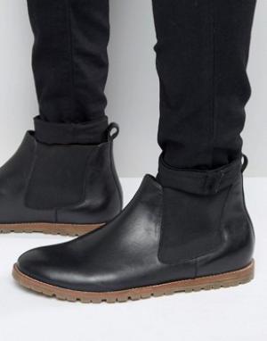 Frank Wright Черные кожаные ботинки челси. Цвет: черный