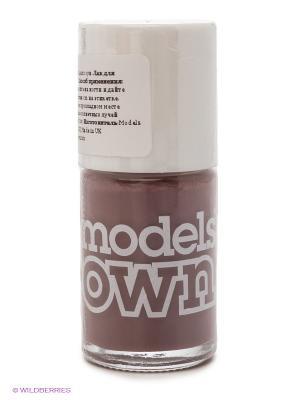 Лак для ногтей, Cream Purple Ash Models Own. Цвет: коричневый