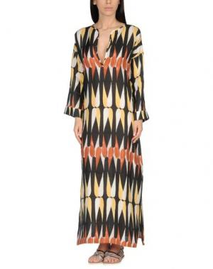Пляжное платье SIYU. Цвет: черный