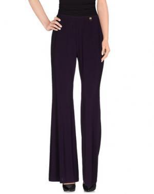 Повседневные брюки 22 MAGGIO by MARIA GRAZIA SEVERI. Цвет: темно-фиолетовый