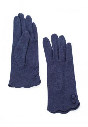Перчатки Fabretti. Цвет: синий