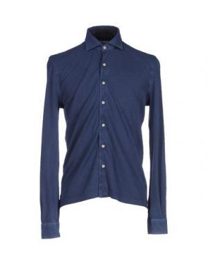 Pубашка DELLA CIANA. Цвет: темно-синий