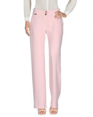 Повседневные брюки W LES FEMMES. Цвет: розовый