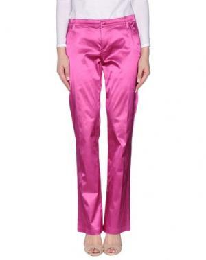 Повседневные брюки DANIELA DREI. Цвет: светло-фиолетовый