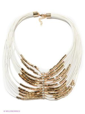 Колье Lovely Jewelry. Цвет: белый, золотистый