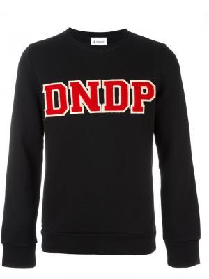 Толстовка с логотипом Dondup. Цвет: чёрный