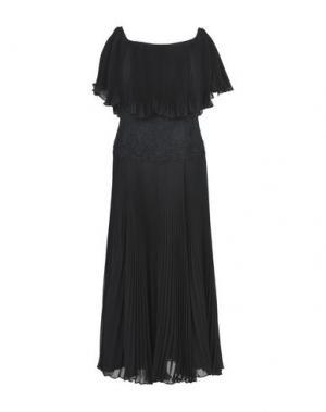 Длинное платье CAILAN'D. Цвет: черный