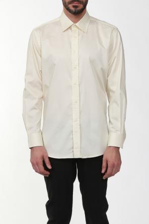 Рубашка REIKARTZ. Цвет: желтый