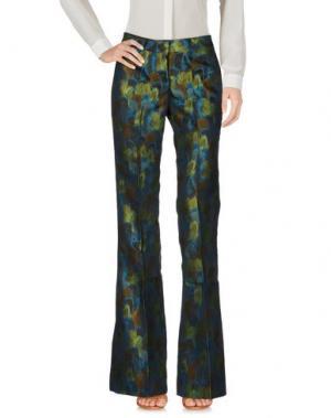 Повседневные брюки GIULIETTE BROWN. Цвет: темно-коричневый