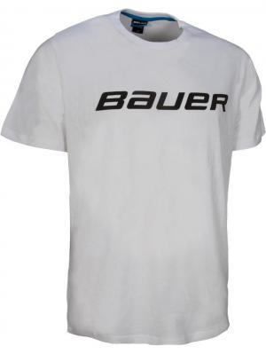 Футболка CORE SS TEE Bauer. Цвет: белый