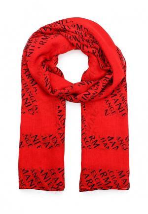 Палантин Armani Exchange. Цвет: красный