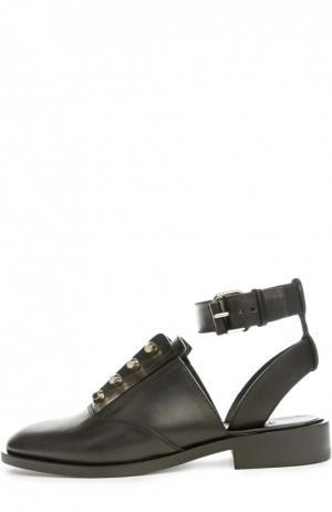 Ботинки с ремешком на щиколотке Balenciaga. Цвет: черный