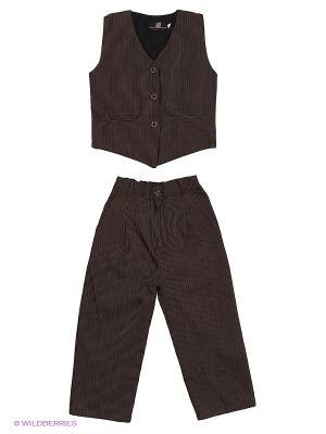 Комплект DAMY-M. Цвет: коричневый