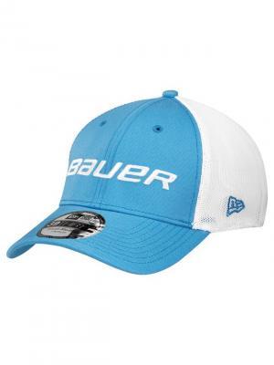 Бейсболка Bauer. Цвет: голубой, белый