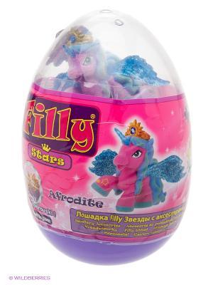 Игровой набор лошадки  Филли/Filly Звезды в яйце Afrodite Dracco. Цвет: розовый