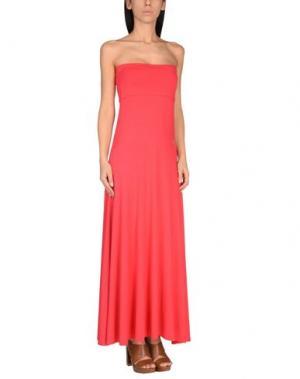 Пляжное платье BLUMARINE BEACHWEAR. Цвет: фуксия