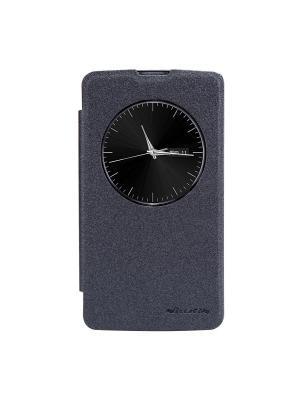 Чехол-книжка для LG D335 (L Bello) Sparkle leather case Nillkin. Цвет: черный