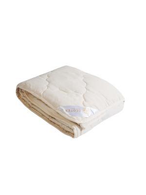 Одеяло Золотое руно облегченное 200х220 ECOTEX. Цвет: бежевый