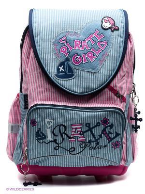 Рюкзак Polar. Цвет: розовый, синий