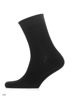 Носки, 4 пары Хох. Цвет: черный
