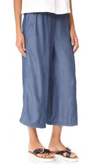 Юбка-брюки Braidy St. Roche. Цвет: потертый темный индиго
