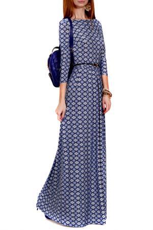 Платье FRANCESCA LUCINI. Цвет: синий, калейдоскоп