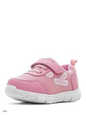 Ботинки PlayToday. Цвет: розовый, белый