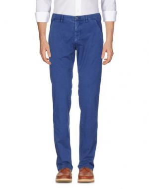 Повседневные брюки EM'S OF MASON'S. Цвет: синий