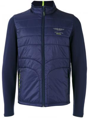 Куртка на молнии Hackett. Цвет: синий