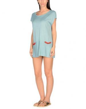 Пляжное платье AMORISSIMO. Цвет: небесно-голубой