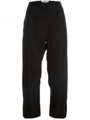 Укороченные брюки Lost & Found Rooms. Цвет: чёрный