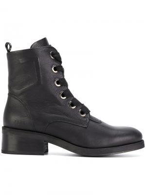 Ботинки Dalida Big Lace Nubikk. Цвет: чёрный
