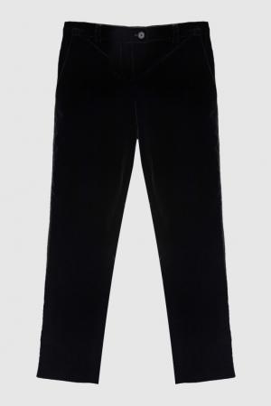 Однотонные брюки Bea Bonpoint. Цвет: черный