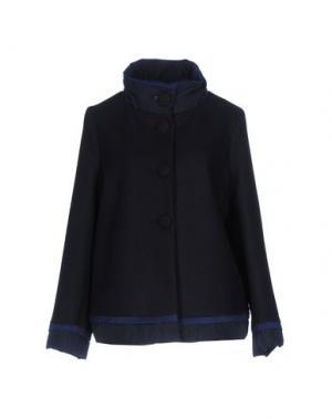 Пальто CORTE dei GONZAGA. Цвет: темно-синий