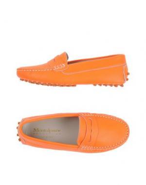 Мокасины MONTELPARE TRADITION. Цвет: оранжевый