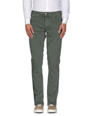 Повседневные брюки DW⁵. Цвет: зеленый-милитари