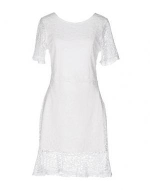 Короткое платье H2O ITALIA. Цвет: белый