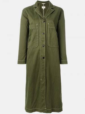 Платье Panama Bellerose. Цвет: зелёный