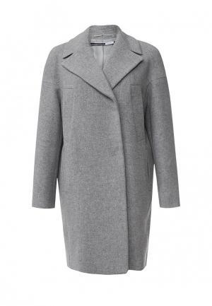 Пальто Sportmax Code. Цвет: серый