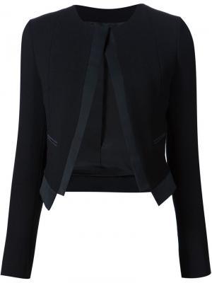 Пиджак без застежки Derek Lam. Цвет: чёрный
