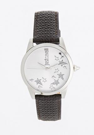 Комплект часы и браслет Just Cavalli. Цвет: черный