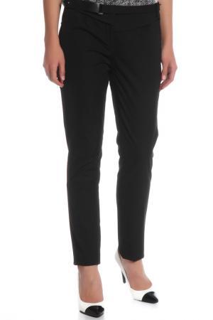 Прямые брюки с поясом Costume National. Цвет: 900, черный