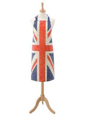 Фартук взрослый (серия Британский флаг) Dexam. Цвет: синий, красный, белый