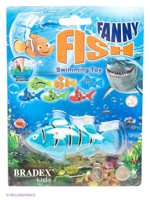 Рыбка-робот FUNNY FISH BRADEX. Цвет: голубой