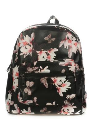 Рюкзак AnnA Wolf. Цвет: черный, бледно-розовый, розовый